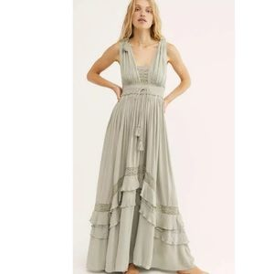 New FP Endless Summer Santa Maria Maxi Dress